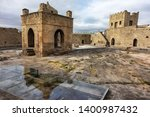 ateshgah fire temple. temple of ... | Shutterstock . vector #1400987432
