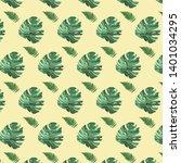 vintage vector color botanical ... | Shutterstock .eps vector #1401034295