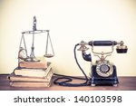Vintage Old Telephone  Scales...
