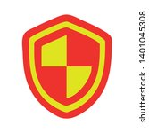 security shield protection... | Shutterstock .eps vector #1401045308