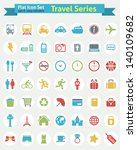 flat icon    travel series | Shutterstock .eps vector #140109682