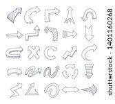 illustration of grunge sketch... | Shutterstock .eps vector #1401160268