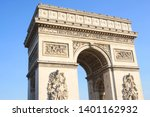 triumphal arch  one of the most ... | Shutterstock . vector #1401162932