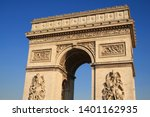triumphal arch  one of the most ... | Shutterstock . vector #1401162935