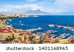 Naples  Italy  Panoramic View...