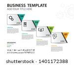 infographics design vector... | Shutterstock .eps vector #1401172388
