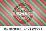 junction christmas emblem...   Shutterstock .eps vector #1401199085