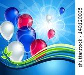 day of russian balls | Shutterstock .eps vector #140120035
