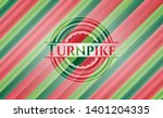 turnpike christmas colors style ...   Shutterstock .eps vector #1401204335