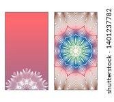 creative invitation card... | Shutterstock .eps vector #1401237782