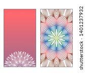 creative invitation card... | Shutterstock .eps vector #1401237932