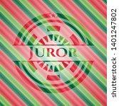 juror christmas colors style...   Shutterstock .eps vector #1401247802
