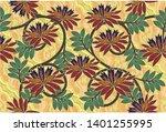 indonesian batik motif.  batik...   Shutterstock .eps vector #1401255995