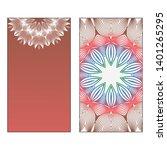 creative invitation card... | Shutterstock .eps vector #1401265295