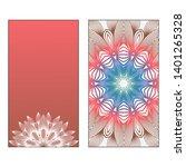creative invitation card... | Shutterstock .eps vector #1401265328