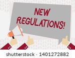 text sign showing new... | Shutterstock . vector #1401272882
