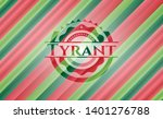 tyrant christmas colors style...   Shutterstock .eps vector #1401276788