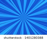 blue abstract comic cartoon... | Shutterstock .eps vector #1401280388