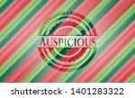auspicious christmas emblem...   Shutterstock .eps vector #1401283322