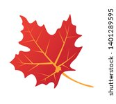 Isolated Maple Leave.maple...