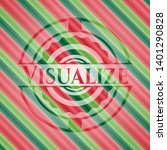 visualize christmas colors...   Shutterstock .eps vector #1401290828