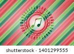 musical note icon inside...   Shutterstock .eps vector #1401299555