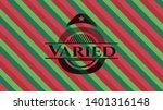 varied christmas emblem...   Shutterstock .eps vector #1401316148