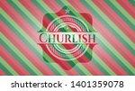 churlish christmas badge....   Shutterstock .eps vector #1401359078