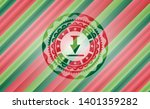 download icon inside christmas...   Shutterstock .eps vector #1401359282