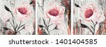 collection of designer oil... | Shutterstock . vector #1401404585