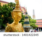 the grand palace and wat phra...   Shutterstock . vector #1401422345