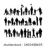 fathers day set  group of... | Shutterstock .eps vector #1401438635