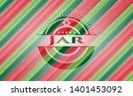 jar christmas emblem background....   Shutterstock .eps vector #1401453092