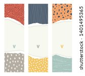 template cards or invitations.... | Shutterstock .eps vector #1401495365