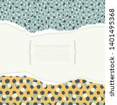 template cards or invitations.... | Shutterstock .eps vector #1401495368