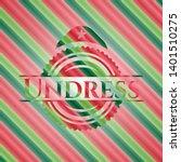 undress christmas emblem...   Shutterstock .eps vector #1401510275