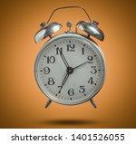 old retro style alarm clock...   Shutterstock . vector #1401526055