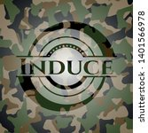 induce written on a camouflage...   Shutterstock .eps vector #1401566978