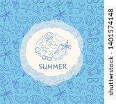 vector set of design templates... | Shutterstock .eps vector #1401574148