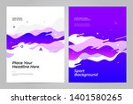 template design with dynamic... | Shutterstock .eps vector #1401580265
