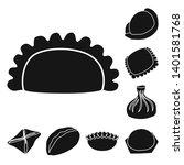 vector illustration of cuisine  ... | Shutterstock .eps vector #1401581768