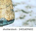 detail of taking off obsolete... | Shutterstock . vector #1401609602