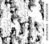 grunge black and white texture. ... | Shutterstock .eps vector #1401610148