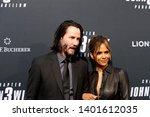 los angeles   may 15   keanu...   Shutterstock . vector #1401612035