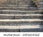 Granite Stone Stairs. Old...