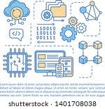 programming environment article ... | Shutterstock .eps vector #1401708038