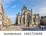 St Giles Cathedral In Edinburgh ...