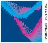 abstract vector modern... | Shutterstock .eps vector #1401755552