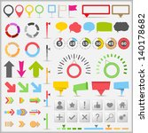 infographic elements collection | Shutterstock . vector #140178682