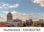 Stock photo downtown fresno skyline california usa on a spring afternoon 1401822785